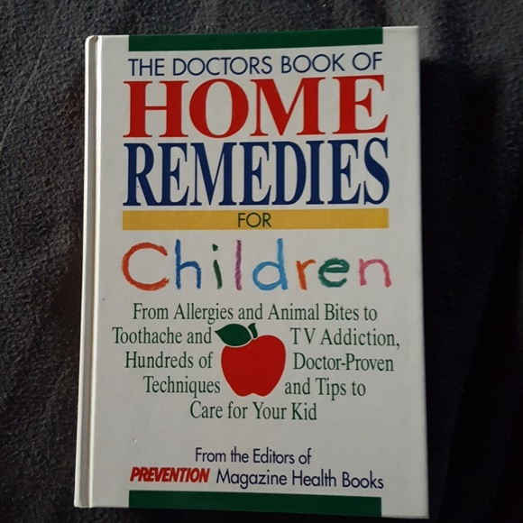 Home remedies hardcover book, 450 pages